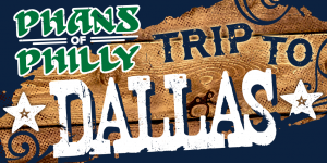 An ad promoting a Philadelphia Eagles travel package to Dallas