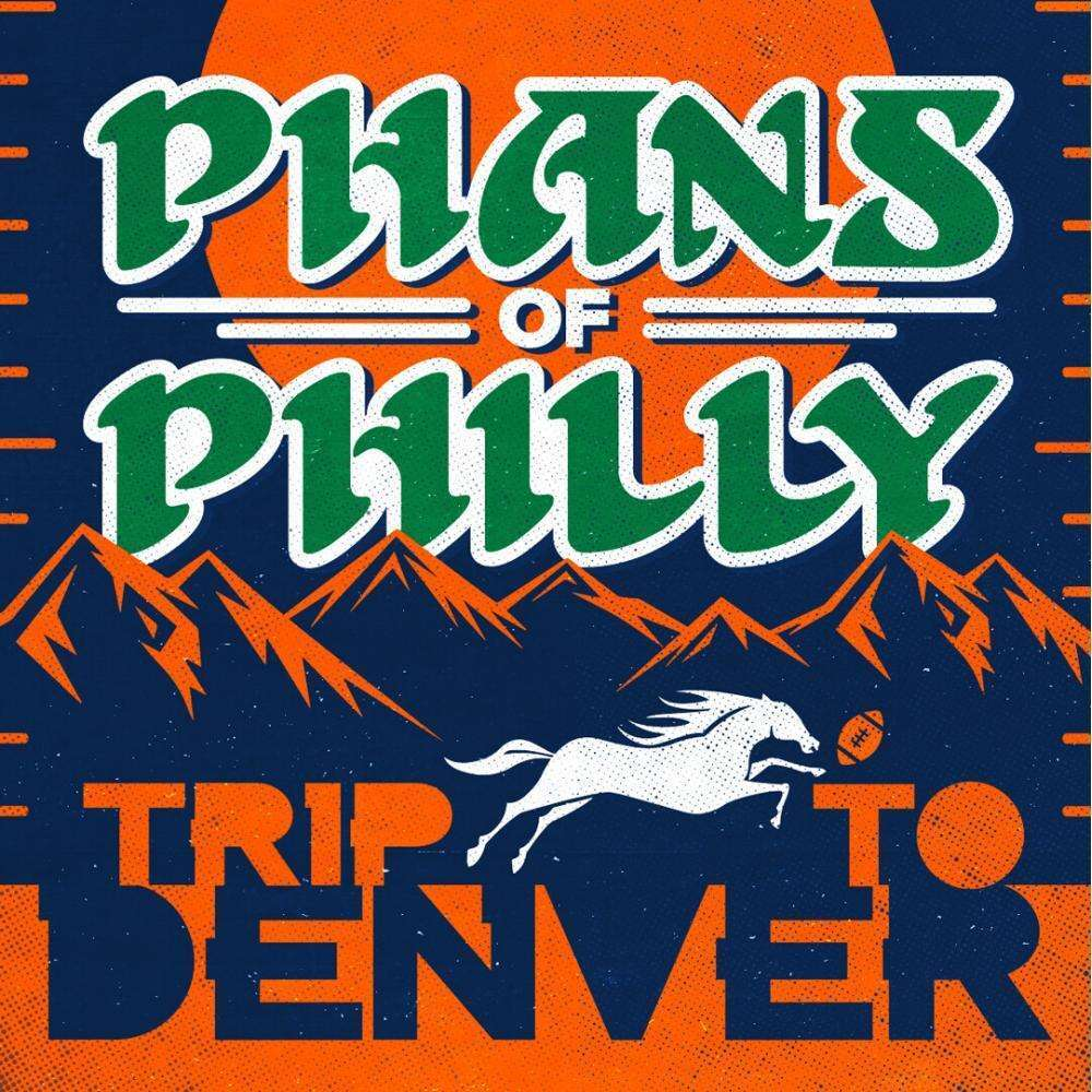 An ad promoting a Philadelphia Eagles road trip to Denver