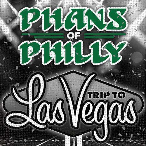 An ad promoting a Philadelphia Eagles road trip to Las Vegas