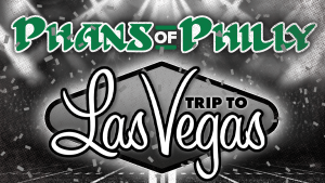 An ad promoting a Philadelphia Eagles travel package to Las Vegas