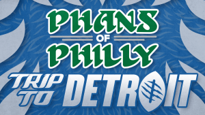 An ad promoting a Philadelphia Eagles travel package to Detroit